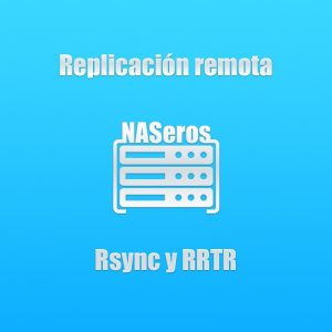 Sistema de copia de NAS a NAS a través de protocolo RSYNC