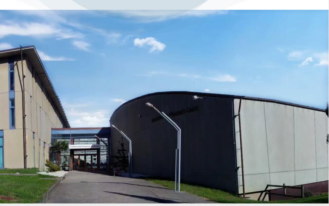 Estrenamos nueva web para el Conservatorio Superior de Música de La Coruña